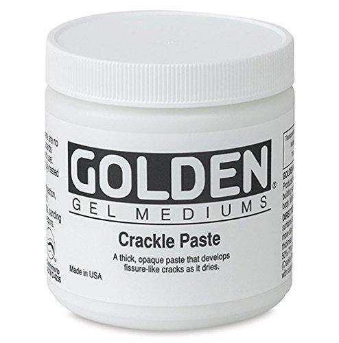- Golden Acryl Med 16 Oz Crackle Paste