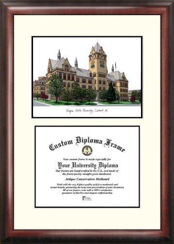 (Campus Images MI983V Wayne State University Scholar Diploma Frame, 8