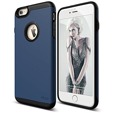 elago [Duro][Black / Jean Indigo] - [Premium Armor][Heavy Shock Absorption][Dual Layers] – for iPhone 6/6S (Phone Covers For Iphone 6 Elago)