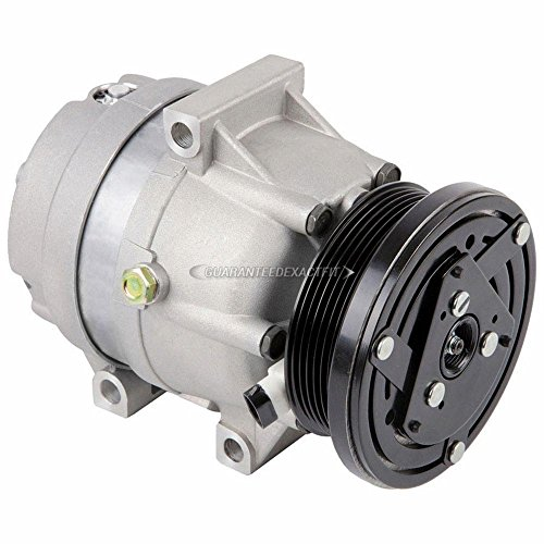 Brand New AC Compressor & A/C Clutch For Buick Chevy Oldsmobile And Pontiac - BuyAutoParts 60-00955NA New