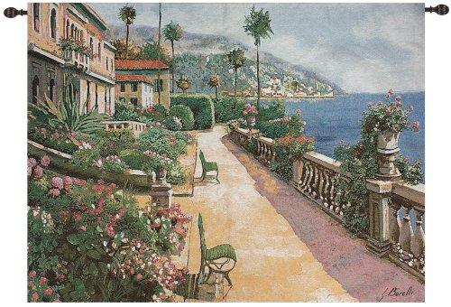 Manual Weavers Prestigious Bella Amalfi Villa Cotton Wall Art Hanging Tapestry 50