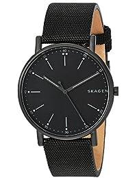 Skagen  Men's  SKW6370 Signatur Black Nylon Watch