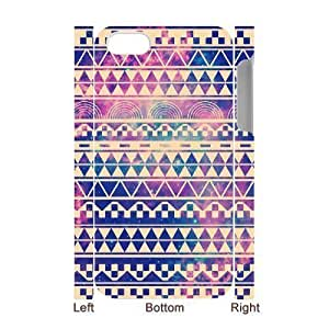 Aztec Tribal Pattern DIY 3D Cover Case for iPhone 5cpersonalized phone case ygtg 5c38081