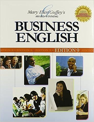 Business English by Mary Ellen Guffey (2008-06-15)