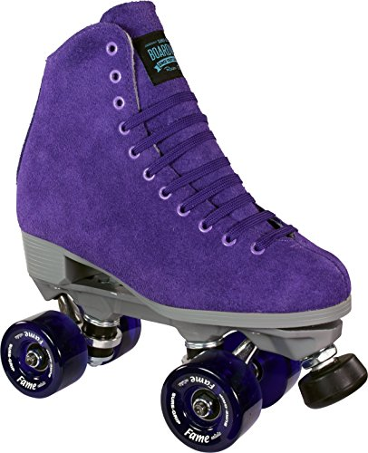 Sure-Grip Purple Boardwalk Skates Indoor
