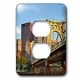 3dRose LSP_231569_6 USA, Pennsylvania, Pittsburgh. Andy Warhol Bridge Plug Outlet Cover,