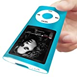 MYMAHDI Support TF Card Micro Usb Port Slim Small Multi-lingual Selection 1.8 LCD Portable MP3/MP4, MP3 Player , MP4 Player , Video Player , Music Player , Media Player , Audio Player Blue