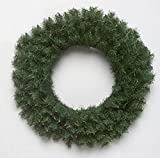 "Pack of 6 Canadian Pine Artificial Christmas Wreaths 16"" - Unlit"