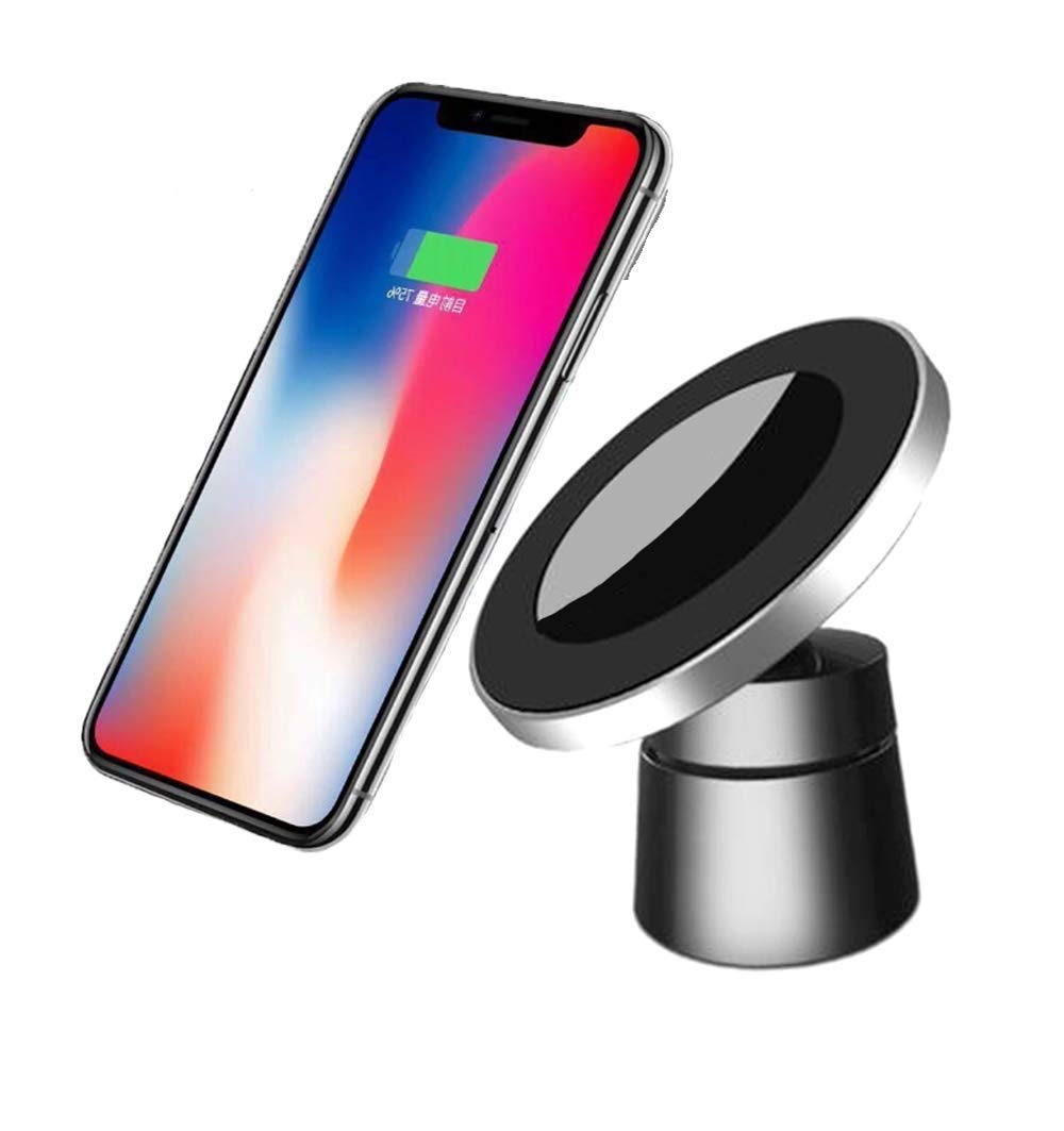 Car Wireless Charger Magnetic Bracket Xr Mobile Phone Fast Charge S9 Universal 8plus Air Outlet Mix2s Apple Xs Max Car Unlimited Android Car Charger