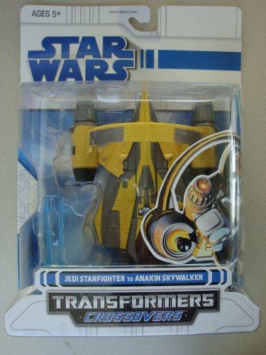 Hasbro Star Wars Transformers Crossovers Jedi Starfighter to Anakin Skywalker