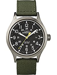 Men's T49961 Expedition Scout 40 Green Nylon Strap Watch