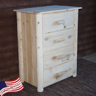 Frontier Chest w 4 Drawers (Unfinished)