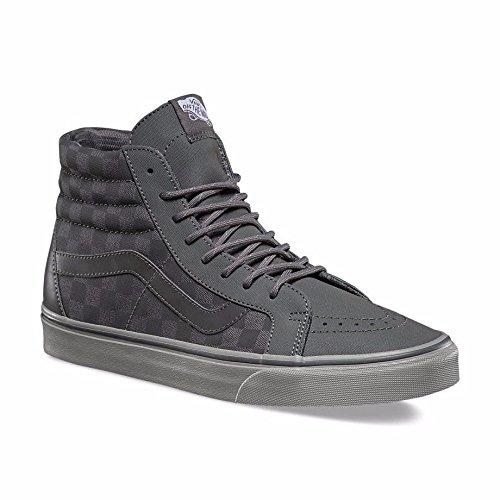 DX (TRANSIT LINE) mens skateboarding-shoes VN-A38GJMVO_8 - Pewter/Reflective (Dx Line)