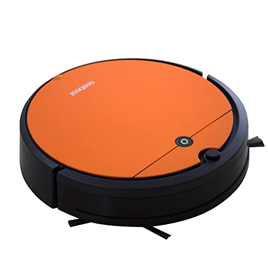 Amazon.com - seebest Gyro Navigation Robot Vacuum Cleaner with Self Charging, Time Schedule for Hard Surface Floors, Good for Pet Hair D751 -