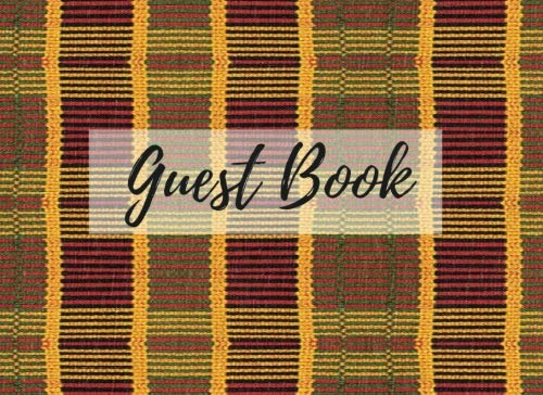 Search : Guest Book: (African Fabric (16), Event Guest Book, For Events, Anniversary, Retirement Party, Wedding, Birthday,101 pages - [Professional Binding]