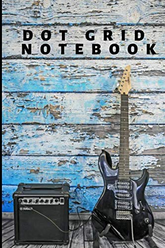 Bullet Dot Grid Journal For Guitar Players, Guitarists, Music Fans, Band Members & More: Customizable Planner Notebook To Use For: Notepad, Logbook, ... Planning  (6