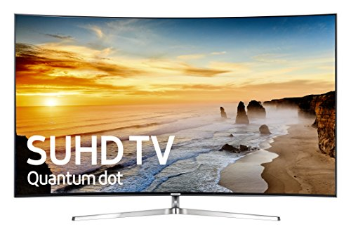 Samsung UN65KS9500 Curved 65-Inch 4K Ultra HD Smart LED TV (2016 Model) (Samsung 65 Inch Curved 3d Tv)