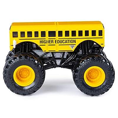 Monster Jam Official Higher Education vs. Bounty Hunter Die-Cast Monster Trucks, 1:64 Scale, 2 Pack: Toys & Games