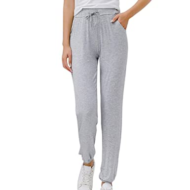 beautyjourney Pantalones Deportivos de Ocio para Mujer Leggings ...