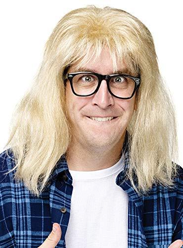 Waynes World Wigs (InCharacter SNL Garth Algar Wig - ST by Fun)