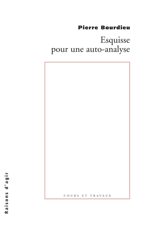 esquisse pour une auto-analyse pdf