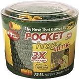 shrink hose - Pocket Hose Ultra Expandable, 75 FT, 3X Stronger