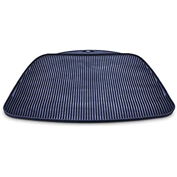 Amazon Com So Phresh Flexible Cat Litter Mat In Navy 17
