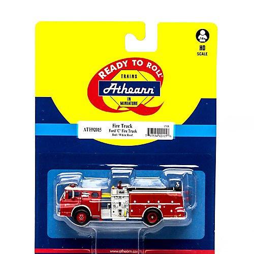 良質  Athearn ATH92015 ATH92015 HO RTR Ford C C Fire Truck, Red Fire/Wht B01L0EPSMO, ice field(アイスフィールド):d5b75756 --- senas.4x4.lt