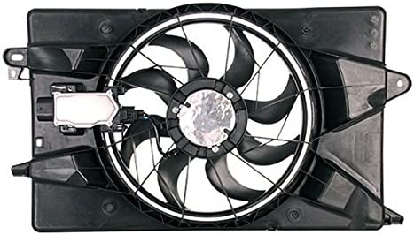 Dual Radiator and Condenser Fan Assembly Cooling Direct For//Fit 14-17 Jeep Cherokee 2.4L 4cy 15-17 Chrysler 200 Sedan