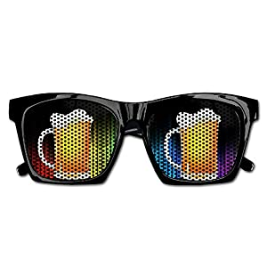 Xing Stars Colorful Summer Unisex Beer Clip Art Fashion Party Costume Sunglasses