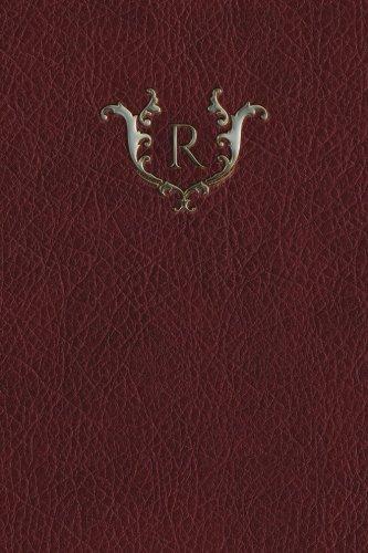 Download Monogram R Grid Notebook (Monogram Red 150 Grid) (Volume 18) ebook