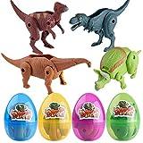 Vibola Simulation Dinosaur Toys,Educational Toys Deformed Dinosaur Egg,Party Favor Toy Great Birthday for Girls Boys