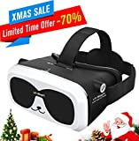 Electronics : Sealegend VR Headset for 3D Videos Games Fit 6.0 Inches and Smaller iPhone Android Phones, Adjustable Focal Distance and Head Straps for Kids Adults Virtual Reality Headset VR Goggles Panda VR Box