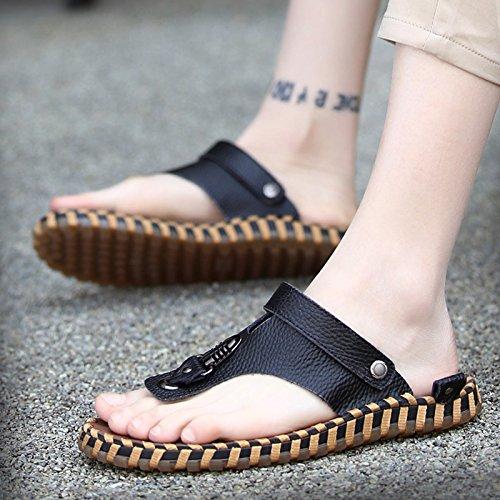 Ocio Verano Hombre sandals Corea De Sandalias Nuevas Playa White Zapatillas Zapatillas B7n7qXtxrY
