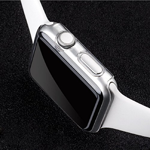 Apple Watch Case,Sunfei Ultra-Slim Cystal Clear PC Hard Protective Case Cover for Apple Watch (42mm) by Sunfei (Image #6)