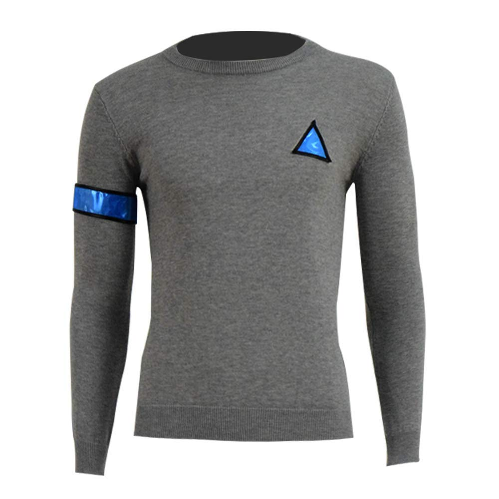 VOSTE Become Human Hoodie 3D Printed Hooded Pullover Sweatshirt Jacket Cap (Small, Sweater) by VOSTE (Image #1)