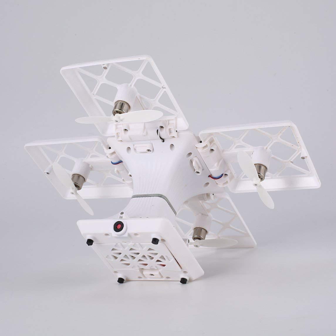 Footprintse 414 414 414 2.4G Selfie FPV Faltbare RC Drone Quadcopter mit Höhe halten 720P HD WiFi Kamera Headless Modus 3D Flips One Key Return-Farbe: Weiß 7fc8ec