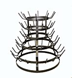 WINE BOTTLE DRYING RACK, 19'' High X 21'' Wide - HOLDS 64 BOTTLES