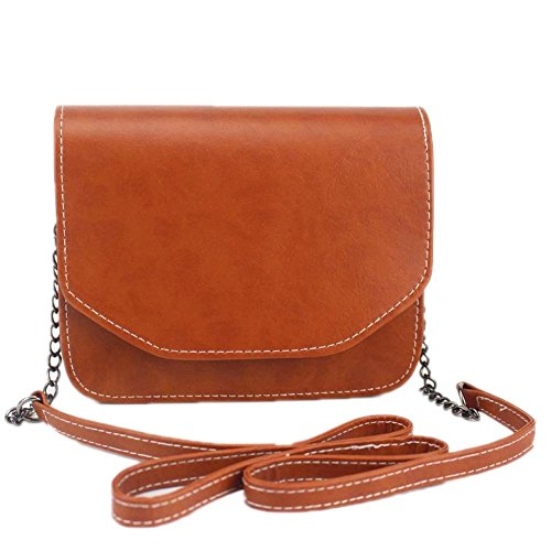 Lady Shoulder Marron Chain Square Bags Clutches Small Mini Bag Bag Handbags Women Handbag Retro Messenger Hrph Zqf7w8p7