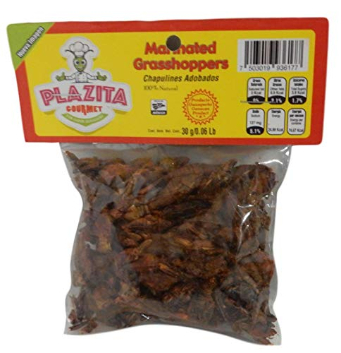 Chapulines Oaxaca grasshoppers