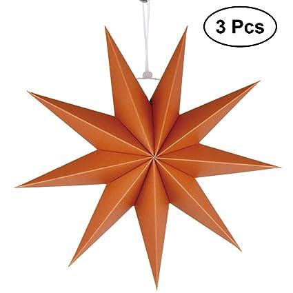 Indian orange star lantern,lampshade.