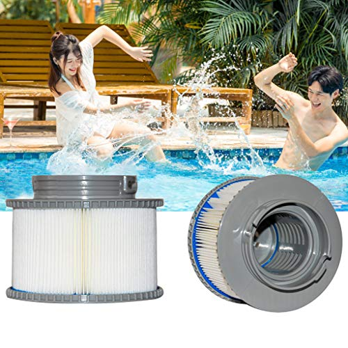 ♛ Euone Filter ♛ Lnflatable Swimming Pool Filter Cartridge Strainer Replacement for MSPA FD2089 (Artificial Sale Swimming Pool For)