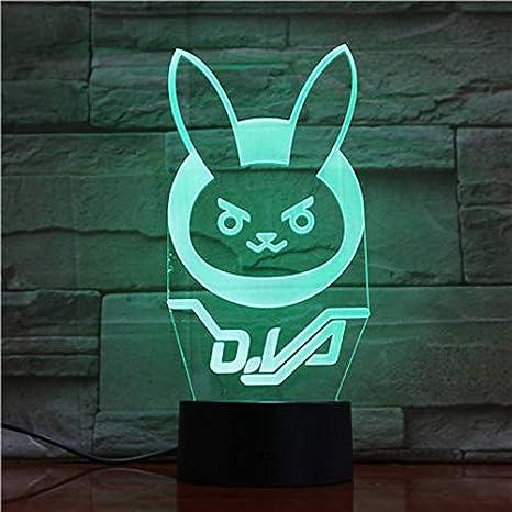 Fin de juego Luz nocturna para niños Sensor táctil LED ...