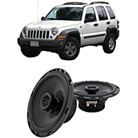 Fits Jeep Liberty 2002-2007 Front Door Factory Replacement Harmony HA-R65 Speakers New