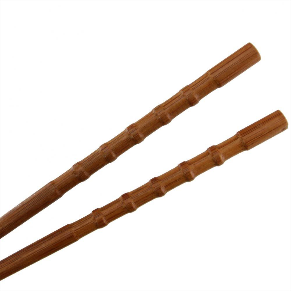 BambooMN - Bamboo Chopsticks Japanese Chopsticks Set Knobby 9'' - 120 Sets by BambooMN