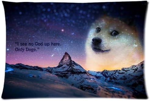 Doge Pillowcase Size 16X24