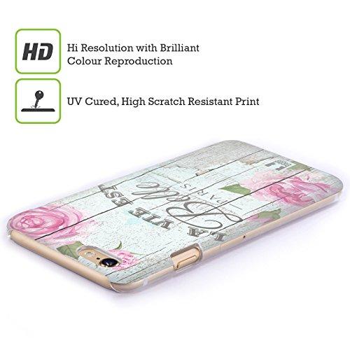 Head Case Designs Beautiful Life Charm Campagnolo Cover Retro Rigida per Apple iPhone 5 / 5s / SE
