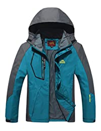Jinmen Mens and Women Tech Jacket Mountaineering Jacket Ski Jacket