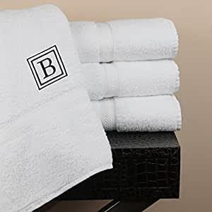Luxor Linens - Oversize Bath Towel Set - Solano Collection 100% Egyptian Cotton Bath Towels - Fully Customized Luxury Bath Towel Sets for Home, Hotel or Spa - Available in Sets of 4