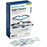 Bausch & Lomb 8574GM Sight Savers Pre Moistened Lens Cleaning Tissue - 100 Per Box - 100 / Box - 5' x 8'